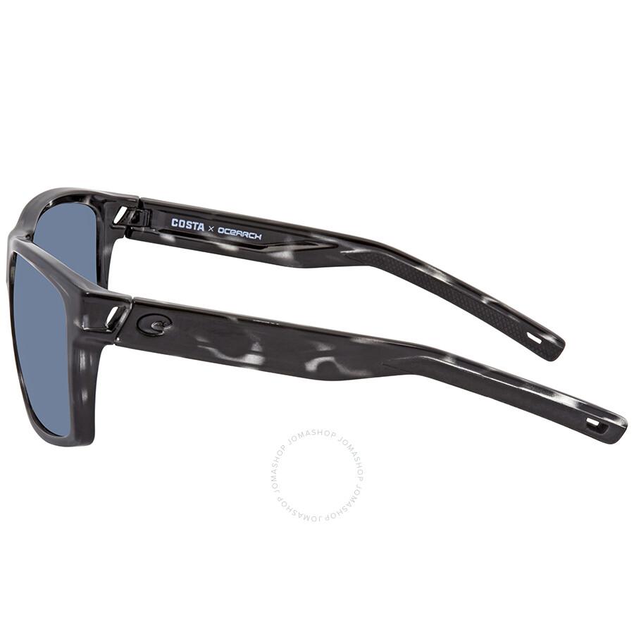 78cf594a795 ... Costa Del Mar Slack Tide Ocearch Grey Rectangular Sunglasses SLT 192OC  OGP