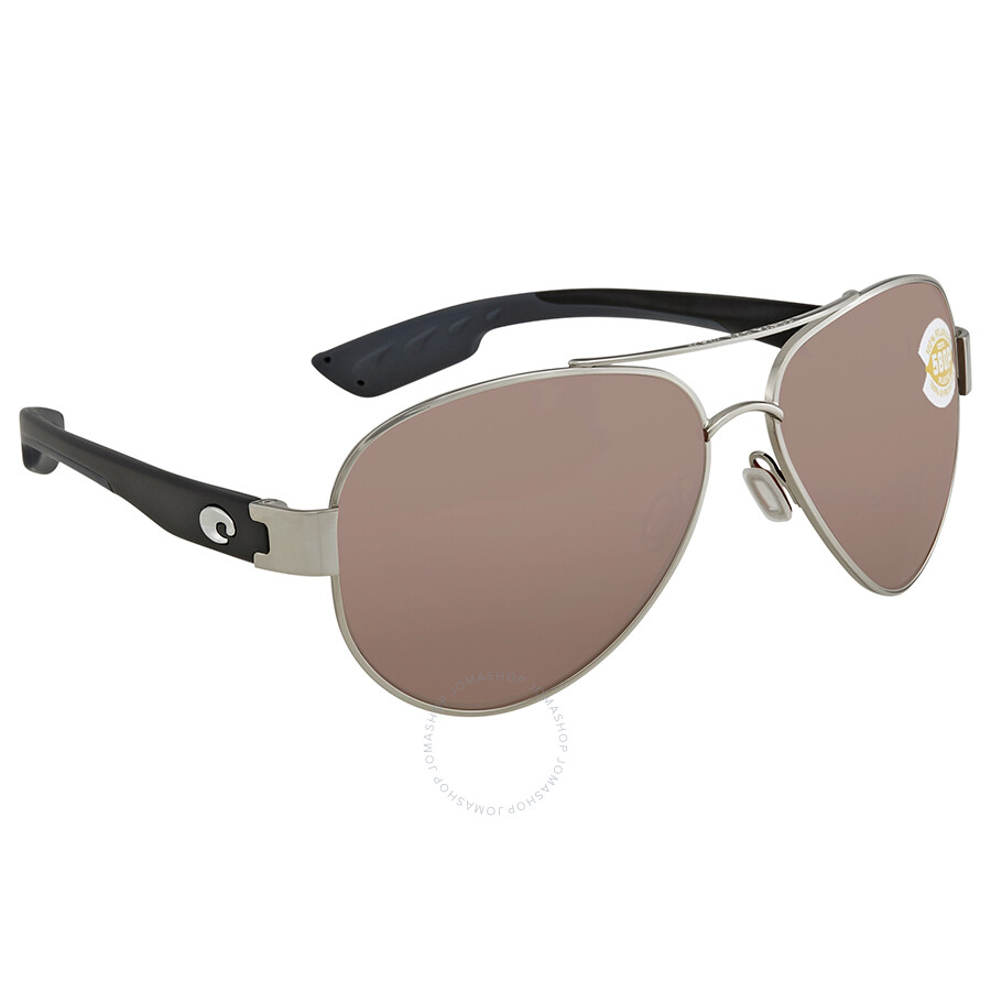 dae5623bbcd Costa Del Mar South Point Copper Silver Mirror Aviator Sunglasses SO 21  OSCP Item No. SO 21 OSCP