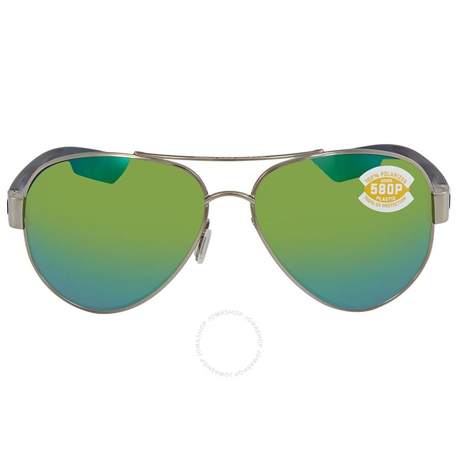 fde78641482 ... Costa Del Mar South Point Green Mirror Polarized Plastic Aviator  Sunglasses SO 21 OGMP ...