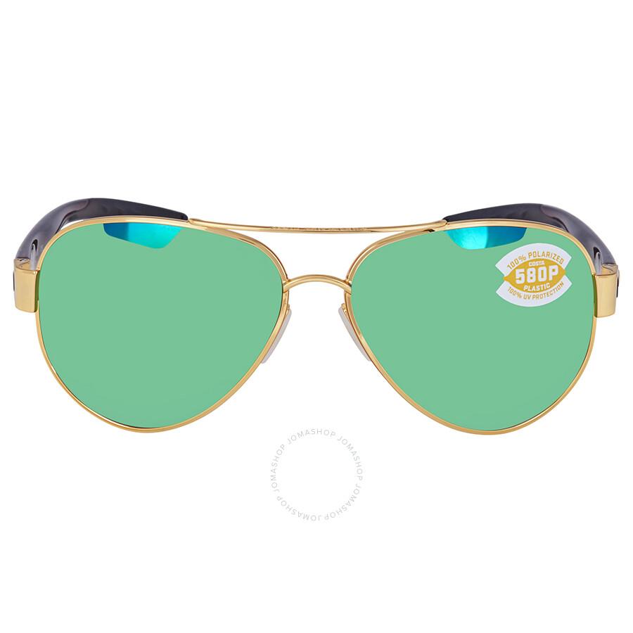 86361ab25f7 ... Costa Del Mar South Point Green Mirror Polarized Plastic Aviator  Sunglasses SO 26 OGMP ...