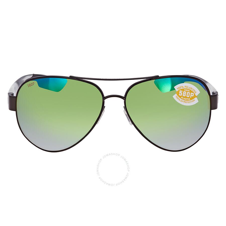 c9366bb250e ... Costa Del Mar South Point Green Mirror Polarized Plastic Aviator  Sunglasses SO 74 OGMP ...