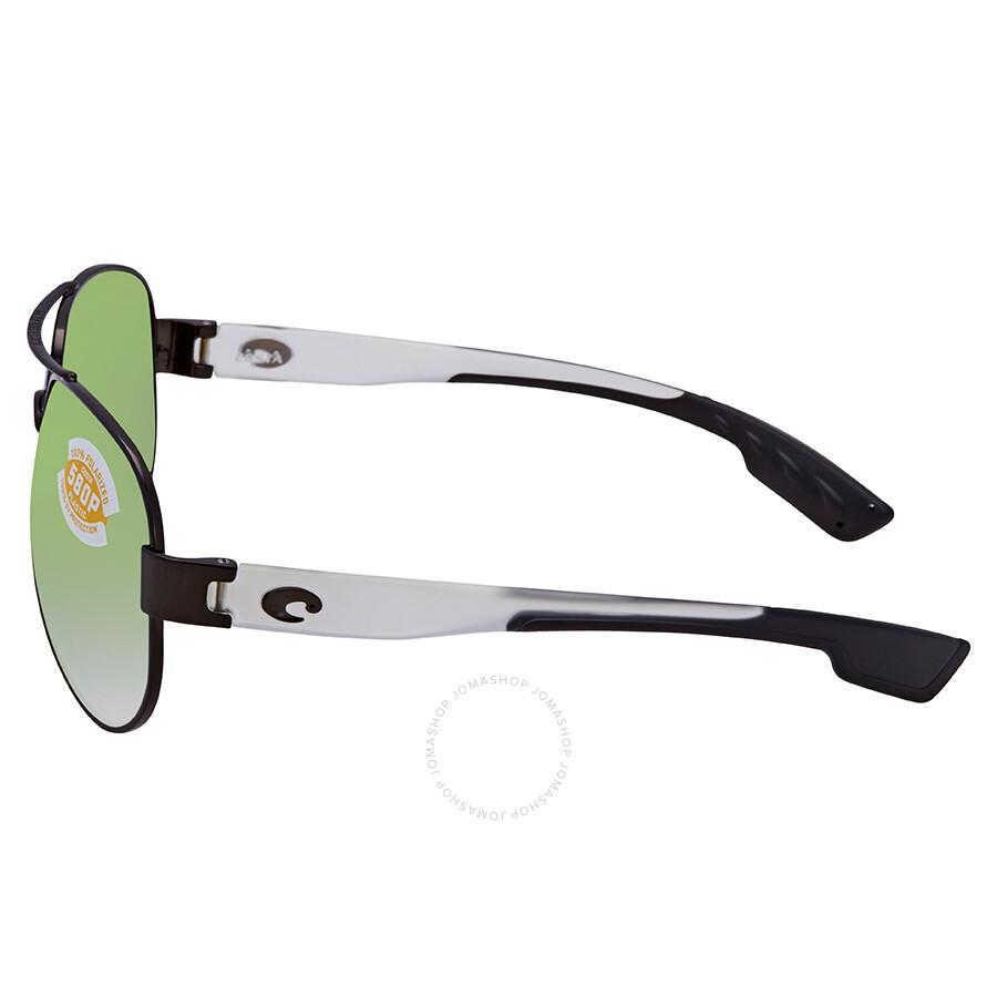d15eba131f6 ... Costa Del Mar South Point Green Mirror Polarized Plastic Aviator  Sunglasses SO 74 OGMP