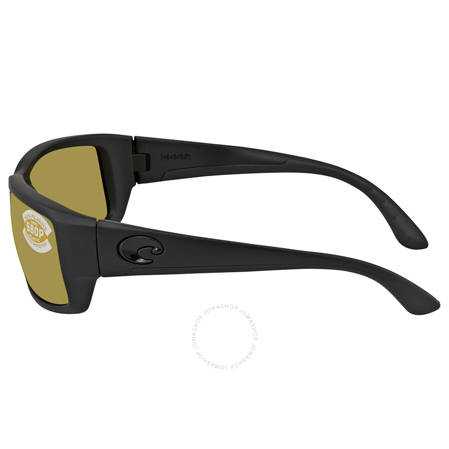 a65031381d ... Costa Del Mar Sunrise Silver Mirror Polarized Plastic Rectangular  Sunglasses TF 01 OSSP