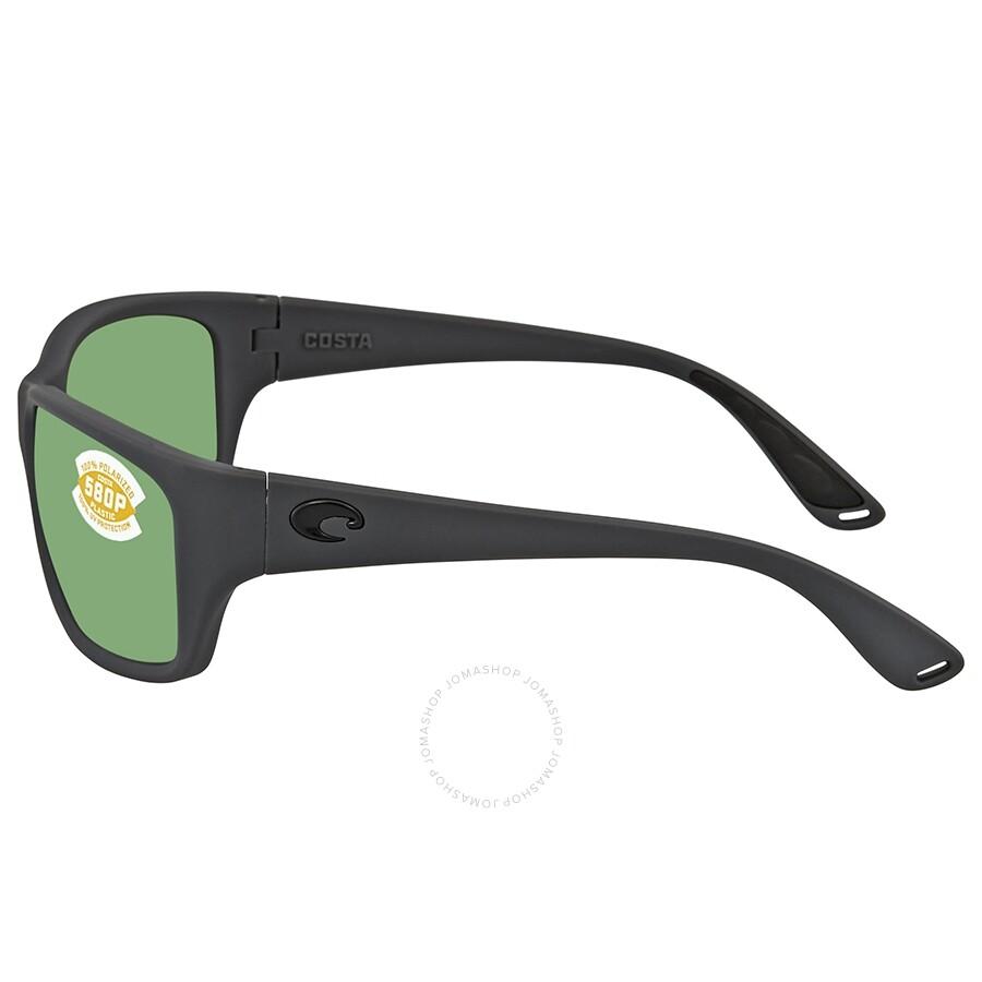 a37c41b9e1 ... Costa Del Mar Tasman Sea Green Mirror Polarized Plastic Rectangular  Sunglasses TAS 98 OGMP