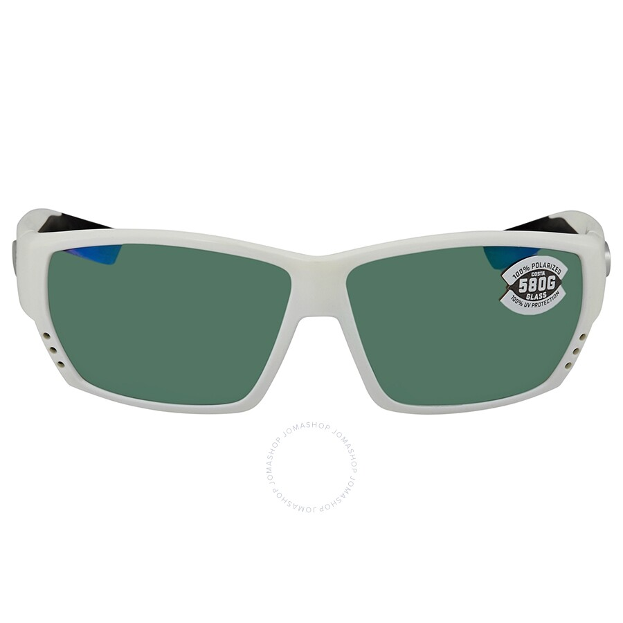 991ed25371541 ... Costa Del Mar Tuna Alley Green Mirror Polarized Glass Rectangular Sunglasses  TA 25 OGMGLP ...