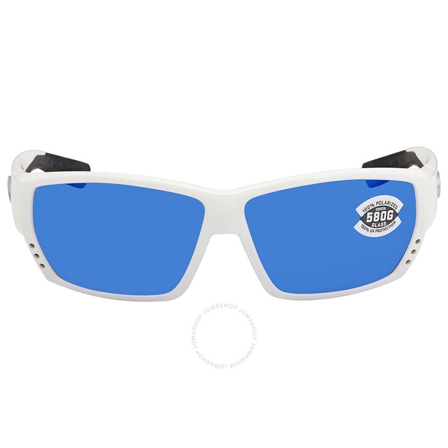 490cf825e797 ... Costa Del Mar Tuna Alley Large Fit Blue Mirror Glass Rectangular  Sunglasses TA 25 OBMGLP ...