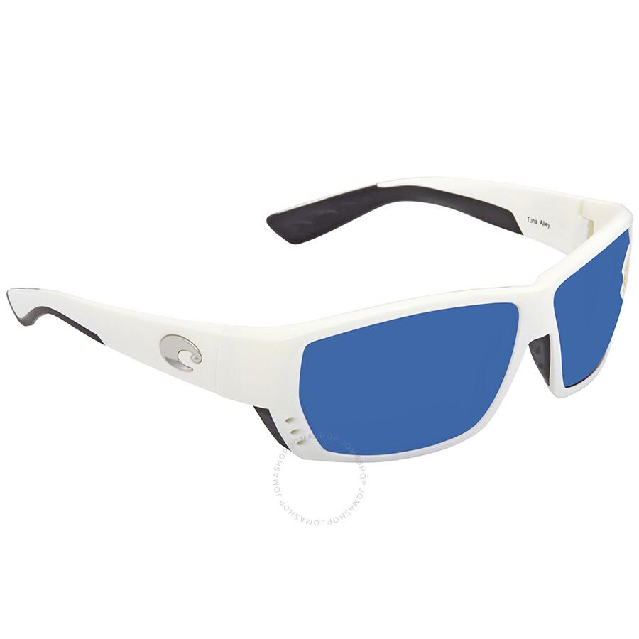 e8ee10d45f3 Costa Del Mar Tuna Alley Large Fit Blue Mirror Sunglasses TA 25 OBMP Item  No. TA 25 OBMP