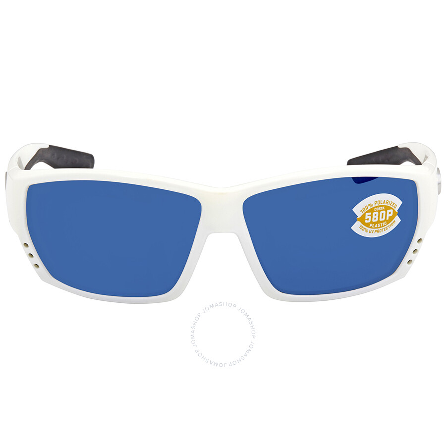 0861e639a6 ... Costa Del Mar Tuna Alley Large Fit Blue Mirror Sunglasses TA 25 OBMP ...