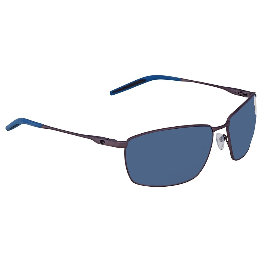 daee3f273d11 Costa Del Mar Turret Gray Polarized Plastic Rectangular Sunglasses TRT 247  OGP ...