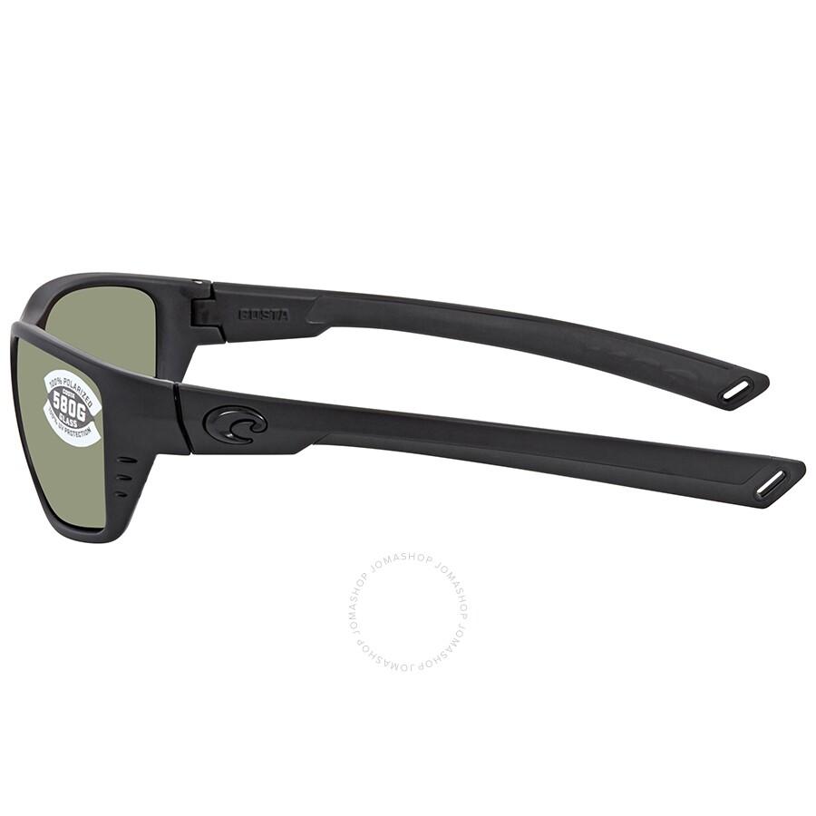 bb8fb98caa ... Costa Del Mar Whitetip Green Mirror Polarized Glass Rectangular Sunglasses  WTP 01 OGMGLP
