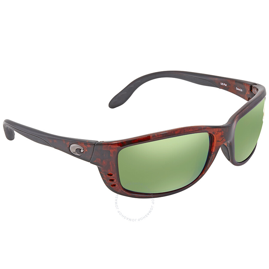 1dbe60a79439d Costa Del Mar Zane Green Mirror Rectangular Sunglasses ZN 10 OGMP Item No.  ZN 10 OGMP