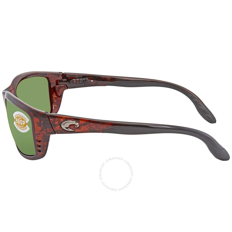 3cd4d311af9c ... Costa Del Mar Zane Green Mirror Rectangular Sunglasses ZN 10 OGMP