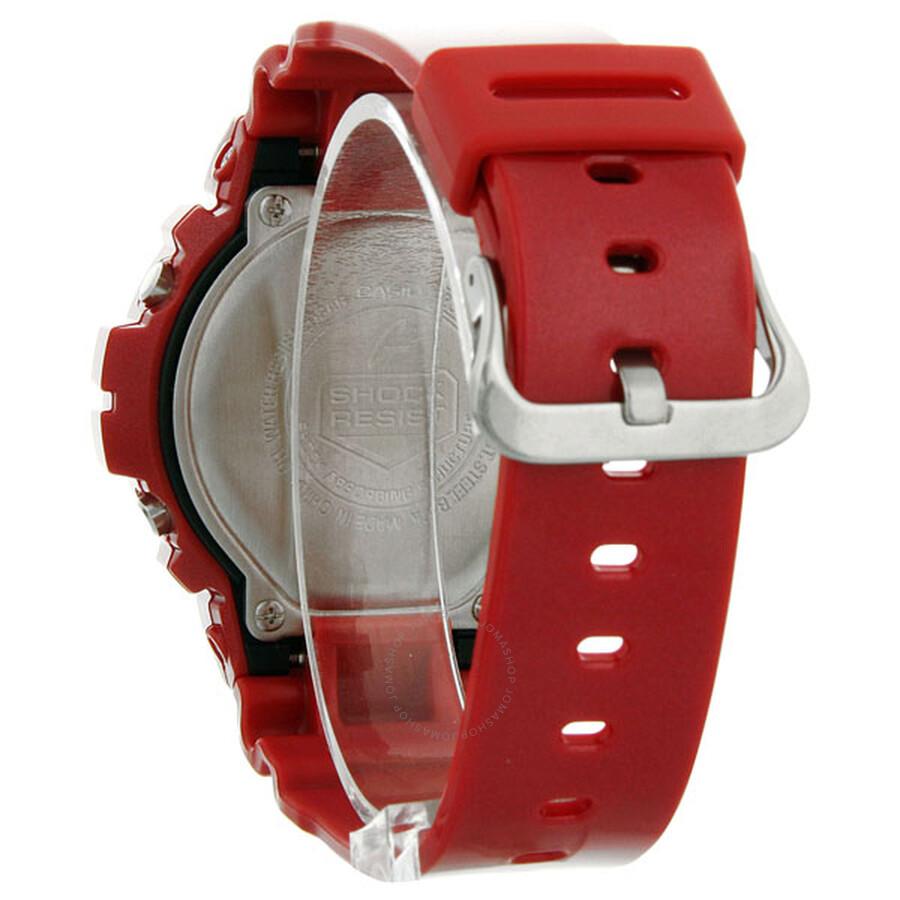 a5047003dcda Casio G-Shock Red Mirror Dial Metallic Red Resin Men s Watch DW6900MF-4CR
