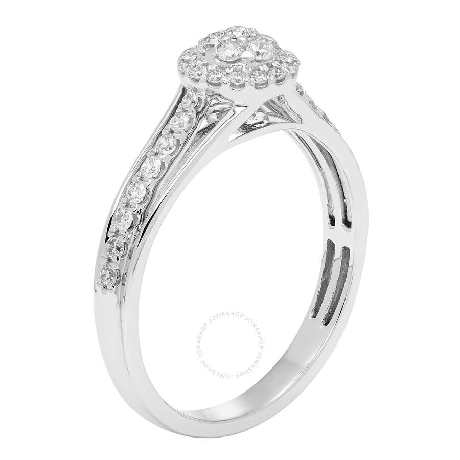 cya k promise ring 38ct 10k white gold r123460w
