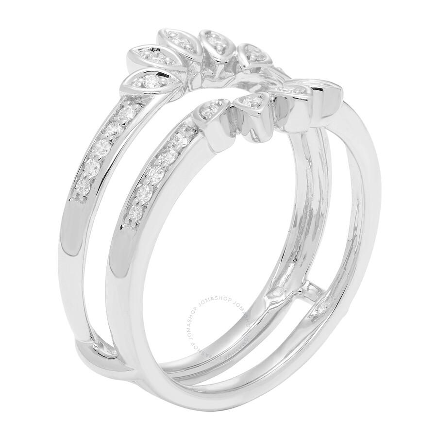Cya K Diamond Wedding Ring Enhancer 20ct 14k White Gold R124075w 7