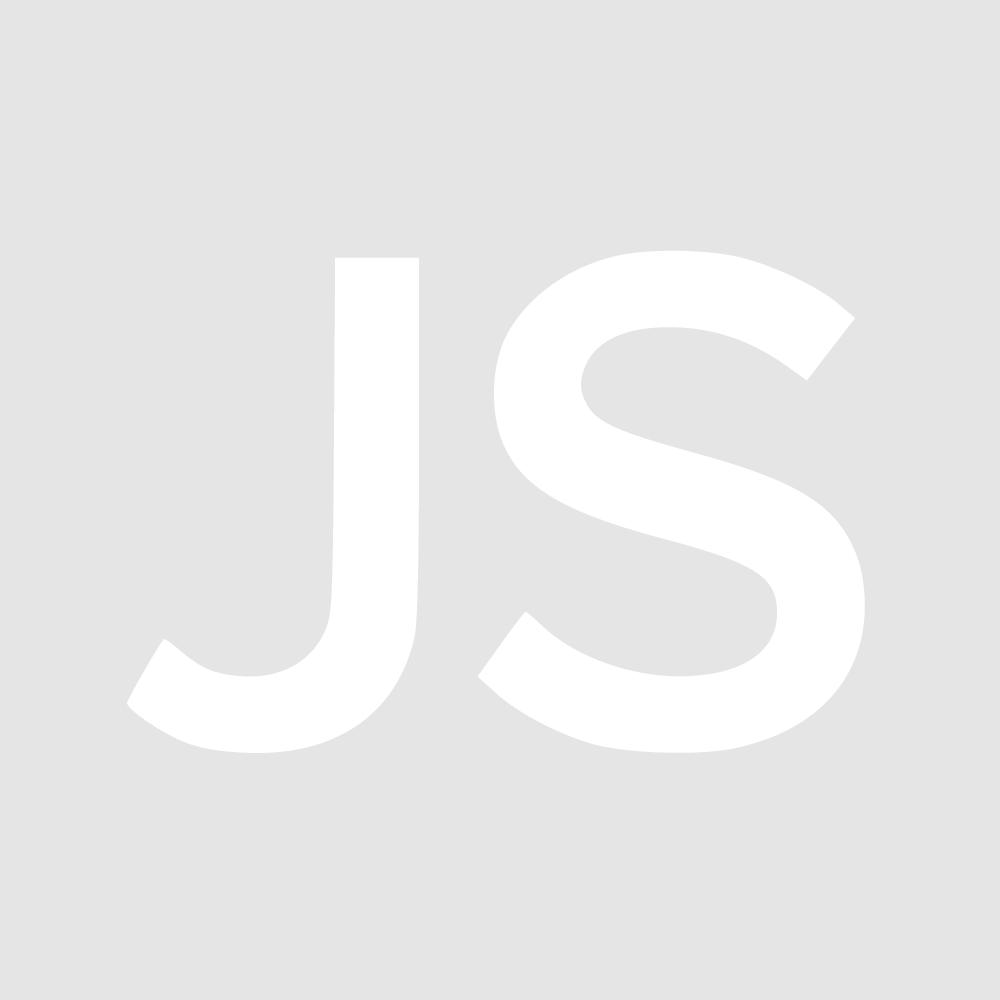 Michael Kors Crystal Pave Crossover Silver-tone Hoop Earrings