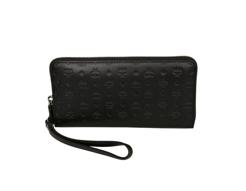 Mcm MCM Ladies Sigmund Wallet in Monogram Leather ...