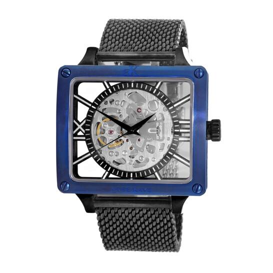 Adee Kaye AK7474 Automatic Men's Watch AK7474-60BKC-BUBZ   Joma Shop