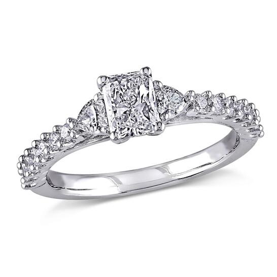 Amour 14K White Gold 1 CT TDW Diamond Fashion Ring | Joma Shop