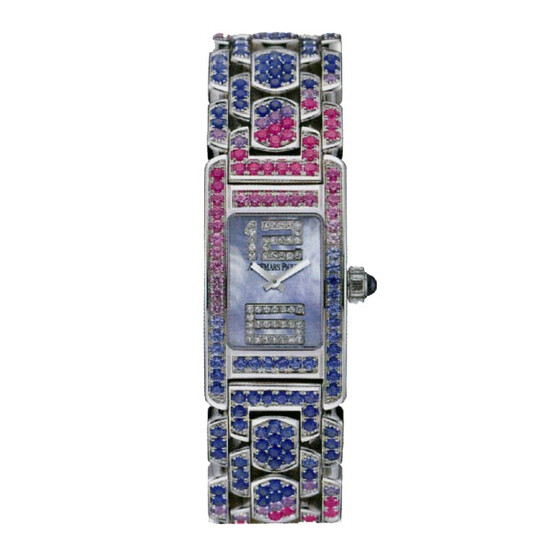 Audemars Piguet Promesse Multi-Colored Sapphire and White Gold Ladies Watch 67465BC.YY.1189BC.02 | Joma Shop