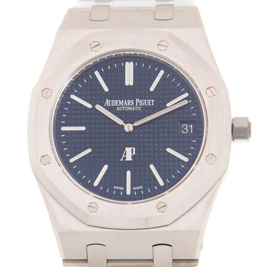 Audemars Piguet Royal Oak Automatic Blue Dial Stainless Steel Men's Watch 15202ST.OO.1240ST.01   Joma Shop