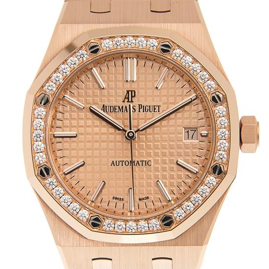 Audemars Piguet Royal Oak Automatic Ladies Diamond Watch 15451OR.ZZ.1256OR.03   Joma Shop