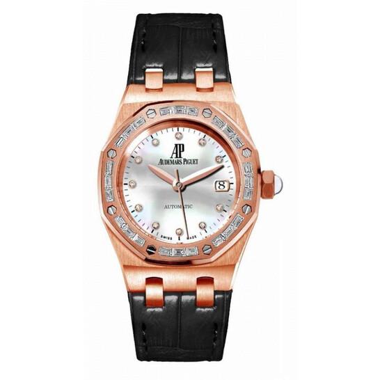 Audemars Piguet Royal Oak Mother of Pearl Diamond Ladies Watch 77331OR.ZZ.D002CR.01   Joma Shop