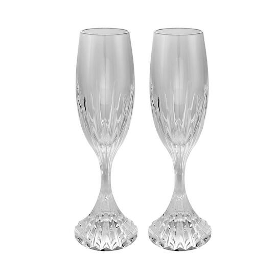 Baccarat Massena Set of 2 Champagne Flutes  2811797   Joma Shop