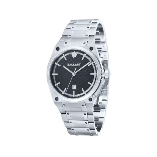 Ballast Valiant Black Dial Stainless Steel Men's Watch BL-5102-11 | Joma Shop