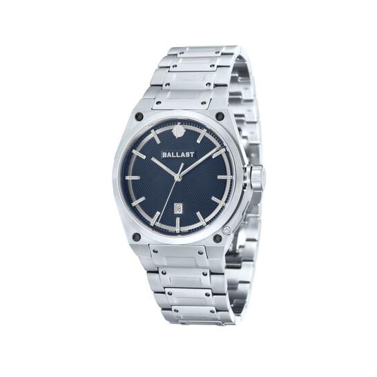 Ballast Valiant Blue Dial Stainless Steel Men's Watch BL-5102-22 | Joma Shop