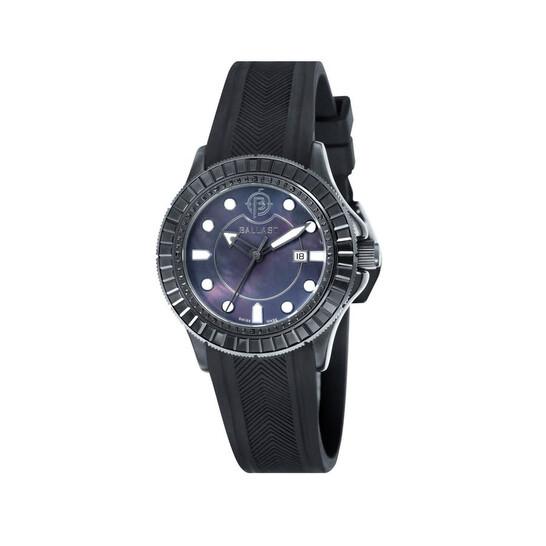Ballast Vanguard Black Mother of Pearl Ladies Watch BL-5101-0C | Joma Shop
