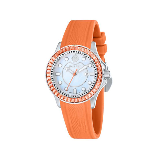 Ballast Vanguard Mother of Pearl Dial Ladies Watch BL-5101-09 | Joma Shop