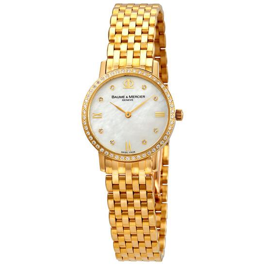 Baume Et Mercier Baume and Mercier Classima Executives Ladies Watch 8579 | Joma Shop