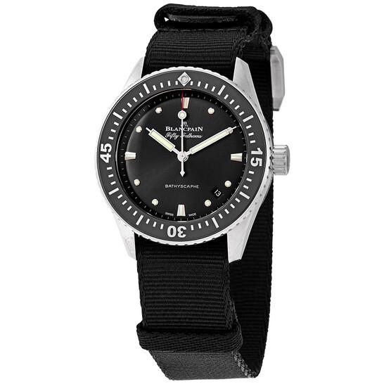 Blancpain Bathyscaphe Automatic Men's Watch 5100B 1110 NABA | Joma Shop