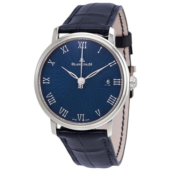 Blancpain Villeret Ultra Slim Blue Dial Men's Watch 6223C-1529-55A | Joma Shop