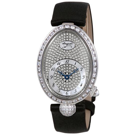 Breguet Reine de Naples Diamond Pave Dial Ladies Watch 8928BB/8D/844.DD0D   Joma Shop