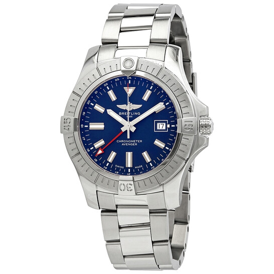 Breitling Avenger GMT 45 Automatic Blue Dial Men's Watch A32395101C1A1   Joma Shop