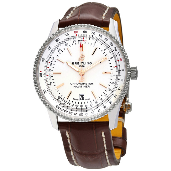 Breitling Navitimer 1 Automatic Silver Dial 41 mm Men's Watch A17326211G1P2 | Joma Shop