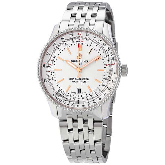 Breitling Navitimer 1 Automatic Silver Dial Men's Watch A17326211G1A1 | Joma Shop