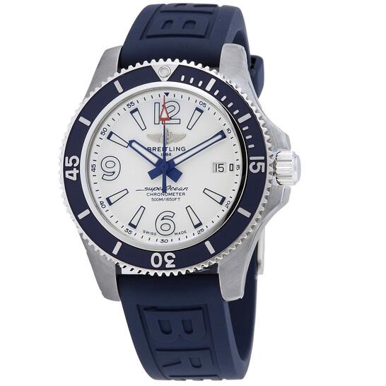 Breitling Superocean Automatic Chronometer White Dial Men's Watch A17366D81A1S1   Joma Shop