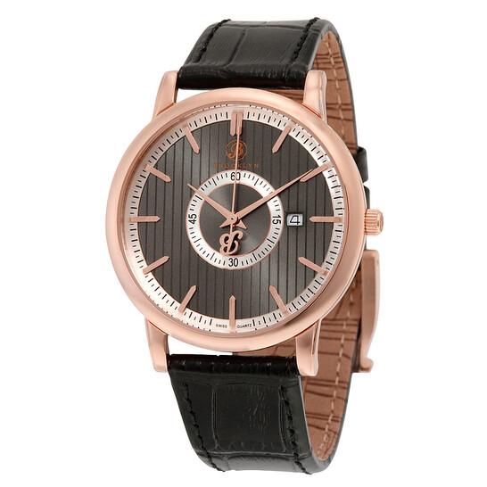 Brooklyn Watch Co. Brooklyn Myrtle II Classic Swiss Quartz Slim Grey Dial Men's Watch   Joma Shop