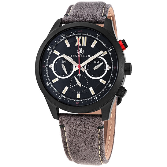 Brooklyn Watch Co. Stuyvesant Quartz Green Dial Men's Watch BW-8128-GQ-08-GRY   Joma Shop