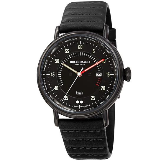 Bruno Magli Alex 1361 Quartz Black Dial Men's Watch 28.201361.ba   Joma Shop