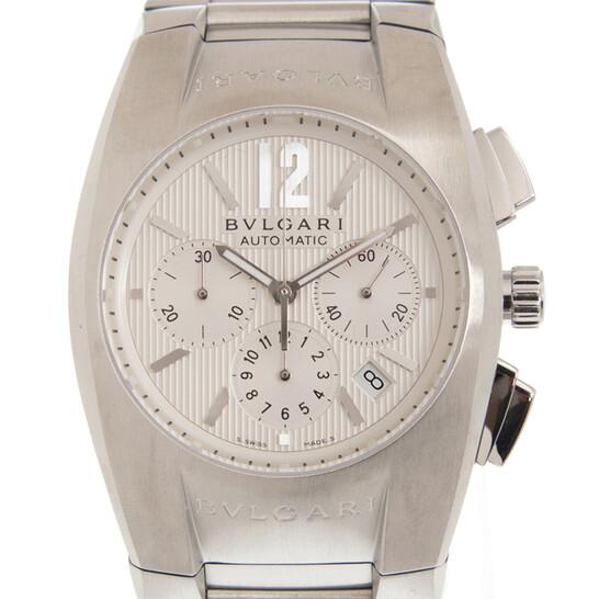 Bvlgari Ergon Chronograph Automatic White Dial Men's Watch EG40C6SSDCH   Joma Shop