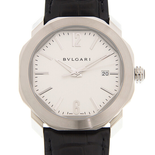 Bvlgari Octo Roma Automatic White Dial Watch OC41C6SLD | Joma Shop