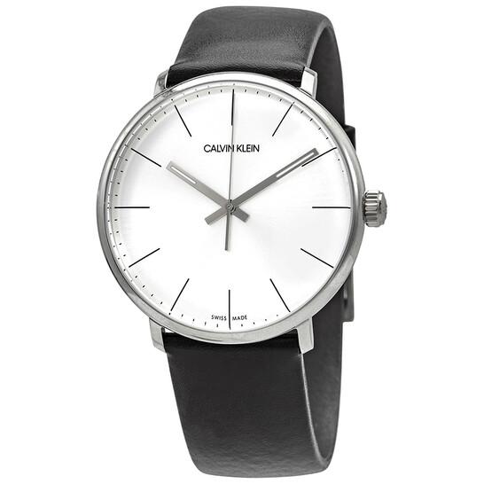 Calvin Klein High Noon Quartz Silver Dial Mens Watch K8M211C6