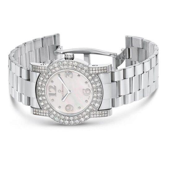 Carl F. Bucherer Pathos Diva Quartz Diamond Ladies Watch 00.10510.02.76.32 | Joma Shop