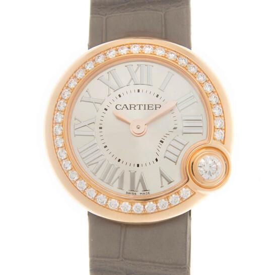 Cartier Ballon Blanc De Cartier Quartz Diamond Silver Dial Ladies Watch WJBL0006   Joma Shop