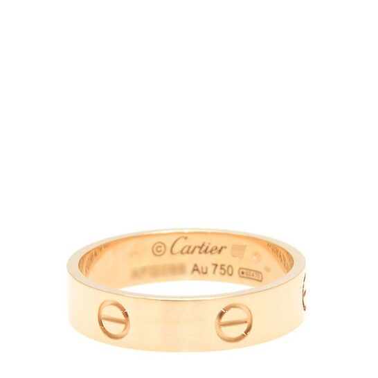 Cartier Love 18 KT Rose Gold Ring B4084848   Joma Shop