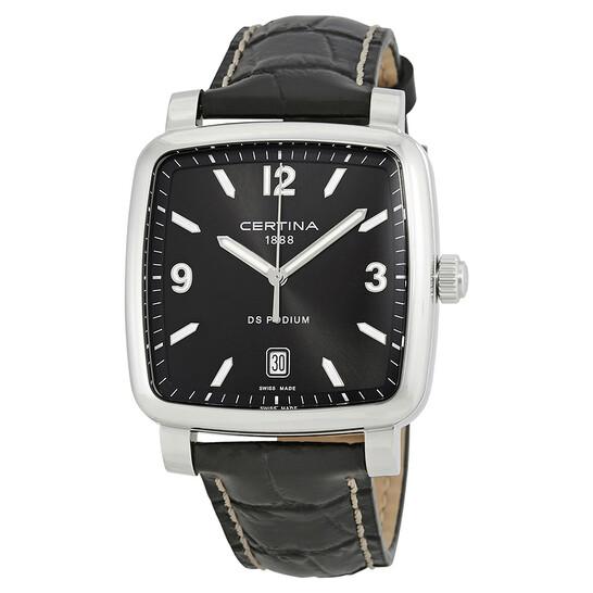 Certina DS Podium Black Dial Black Dial Ladies Watch C025.510.16.057.00 | Joma Shop